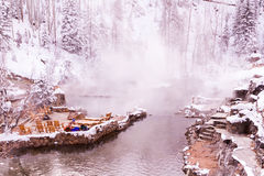 Hot Springs Images stock