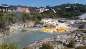 Hot Springs Arkivbilder