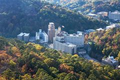 Hot Springs Arkansas foto de stock