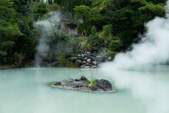 Hot springs in Beppu of Japan Royalty Free Stock Photo