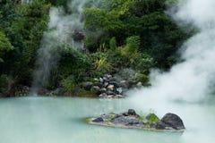Hot springs in Beppu Stock Image