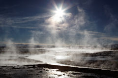 Hot springs, Bolivia Stock Photography