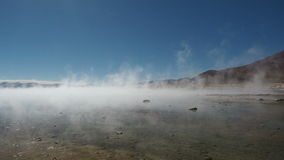 Hot springs in Bolivia stock video footage