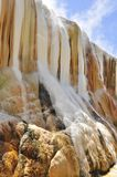 Hot springs cascade  in Guelma, Algeria Stock Photo