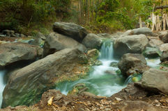 Hot springs in Costa Rica Royalty Free Stock Photos
