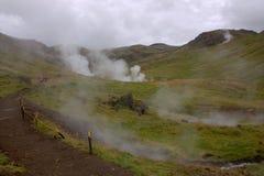 Hot Springs dans Hveragerdi Images stock