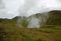 Hot Springs dans Hveragerdi Photographie stock libre de droits