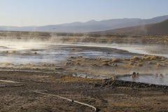 Hot Springs, Eduardo Alveroa, Uyuni Bolivia Royalty Free Stock Image