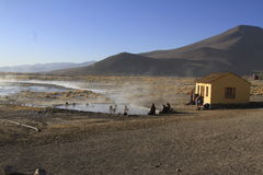 Hot Springs, Eduardo Alveroa, Uyuni Bolivia Stock Photography