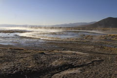 Hot Springs, Eduardo Alveroa, Uyuni Bolivia Royalty Free Stock Image