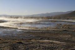 Hot Springs, Eduardo Alveroa, Uyuni Bolivia Royalty Free Stock Images