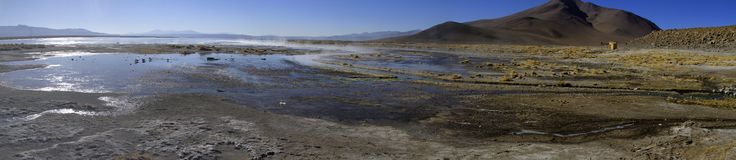 Hot Springs, Eduardo Alveroa, Uyuni Bolivia Stock Photo