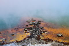 Hot Springs fragment Royalty Free Stock Image