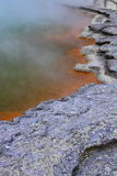 Hot springs fragment Royalty Free Stock Photography