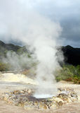 Hot springs in Furnas, Sao Miguel island, Azores, Portugal Stock Images