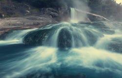 Hot springs in Greece Stock Image