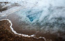 Hot Springs guld- cirkel, Island Royaltyfri Foto
