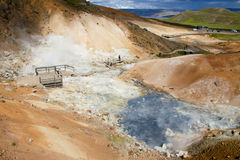 Hot springs - Iceland Royalty Free Stock Image