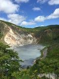 Hot Springs. Jigokudani Hot Springs in Hokkaido Royalty Free Stock Photos