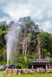 Hot springs with nature Royalty Free Stock Images