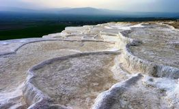 The hot springs of Pamukkale Turkey Stock Photo