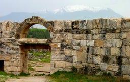 The hot springs of Pamukkale Turkey Stock Photo