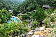 Hot Springs Resort in Tengchong, China Royalty Free Stock Photo