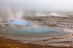 Iceland, Geysers Valley Stock Photos