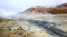 Hot springs Royalty Free Stock Image