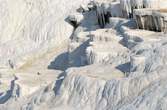 Hot springs and travertines in Pammukale, Turquey Stock Image
