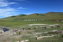 Hot Springs of Tsenkher Stock Image