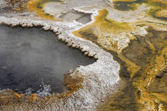 Hot springs waters Royalty Free Stock Photo