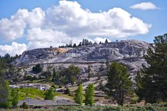 Hot Springs Wyoming Royalty Free Stock Photos