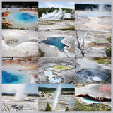Hot springs Royalty Free Stock Images