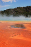 Hot springs in Yellowstone. Royalty Free Stock Photography