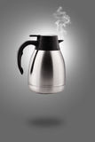 Hot Stainless electric kettle Stock Photography