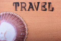 Hot stamping Travel Royalty Free Stock Photo