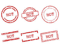 Hot stamps Royalty Free Stock Images