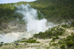 Hot Steam by Geothermal Royalty Free Stock Photos