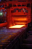 Hot steel Stock Images