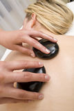 Hot Stone Massage Stock Photos