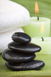 Hot stone treatment (2) Stock Photos