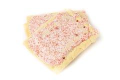 Hot Strawberry Toaster Pastry Stock Photo