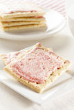 Hot Strawberry Toaster Pastry Stock Images