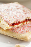 Hot Strawberry Toaster Pastry Stock Photo