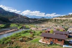 Hot Sulphur Springs on Colorado River Colorado USA Royalty Free Stock Photography