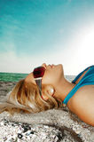 Hot summer. A beautiful 92 degree summer day Royalty Free Stock Images