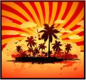 Hot Summer Background Stock Photo