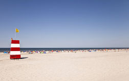 Hot Summer Day at the North Sea Stock Images