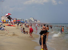 Hot Summer Day in Ocean City Maryland Royalty Free Stock Images